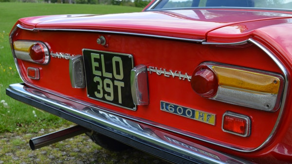 RESERVE LOWERED - 1971 Lancia Fulvia Coupe 1.6 HF Lusso For Sale (picture 58 of 107)