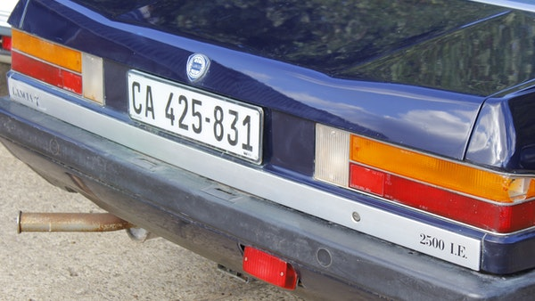 1983 Lancia Gamma Coupé 2500 ie For Sale (picture 76 of 94)