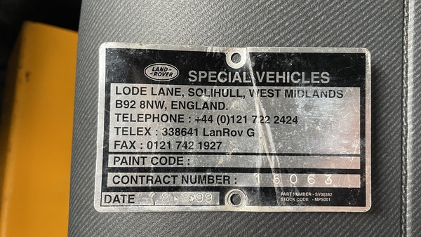 1999 Land Rover Defender 90 For Sale (picture 155 of 159)