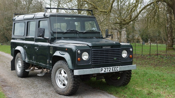 NO RESERVE! 1996 Land Rover Defender 110 County For Sale (picture 6 of 141)