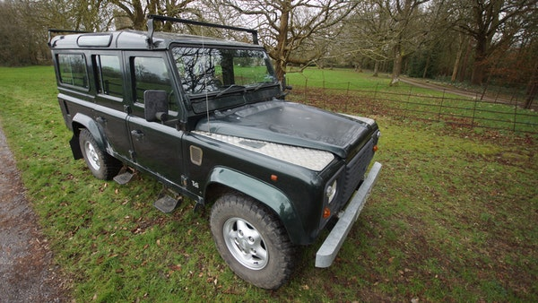 NO RESERVE! 1996 Land Rover Defender 110 County For Sale (picture 22 of 141)