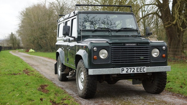 NO RESERVE! 1996 Land Rover Defender 110 County For Sale (picture 20 of 141)