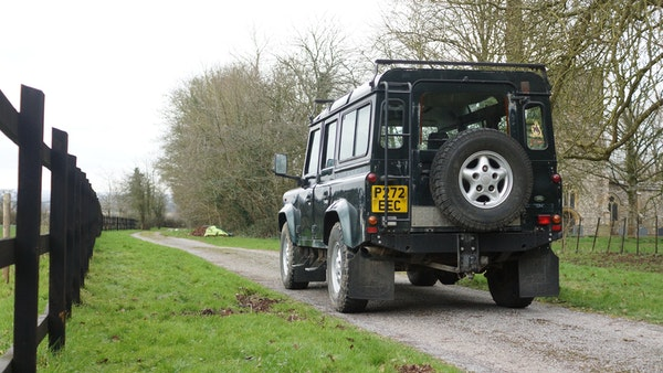 NO RESERVE! 1996 Land Rover Defender 110 County For Sale (picture 3 of 141)