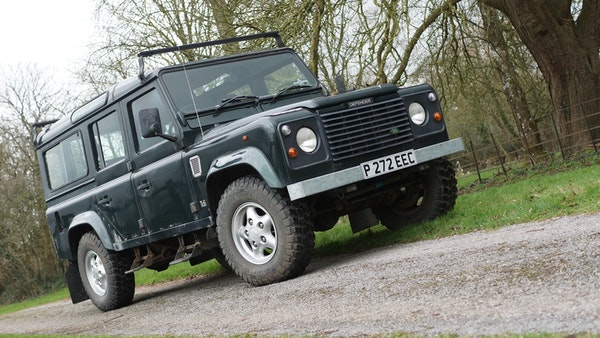 NO RESERVE! 1996 Land Rover Defender 110 County For Sale (picture 8 of 141)