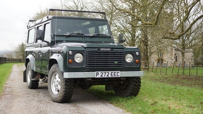 NO RESERVE! 1996 Land Rover Defender 110 County