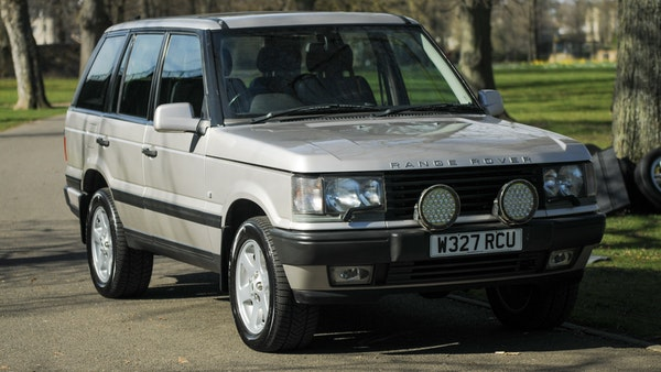 RESERVE LOWERED - 2000 P38 Range Rover 4.6 HSE For Sale (picture 1 of 129)