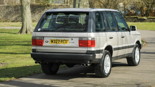 RESERVE LOWERED - 2000 P38 Range Rover 4.6 HSE For Sale (picture 8 of 129)