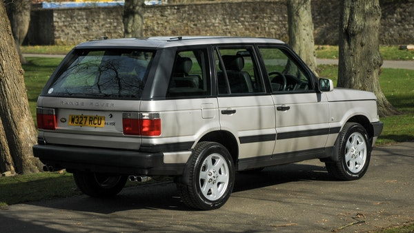 RESERVE LOWERED - 2000 P38 Range Rover 4.6 HSE For Sale (picture 9 of 129)
