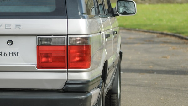 2000 P38 Range Rover 4.6 HSE For Sale (picture 72 of 129)