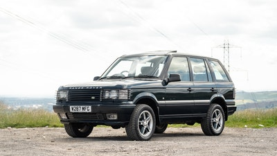 2000 Range Rover 4.6 Holland and Holland