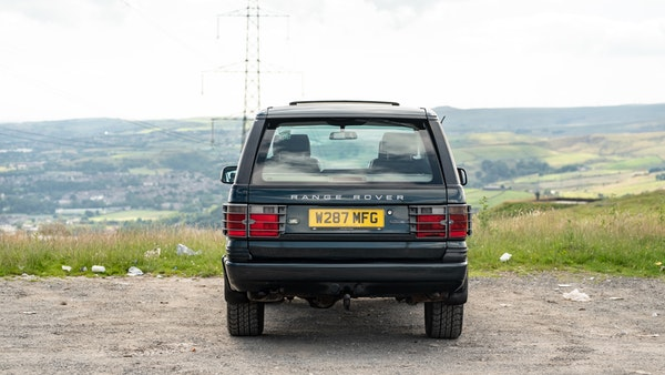 2000 Range Rover 4.6 Holland and Holland For Sale (picture 12 of 62)