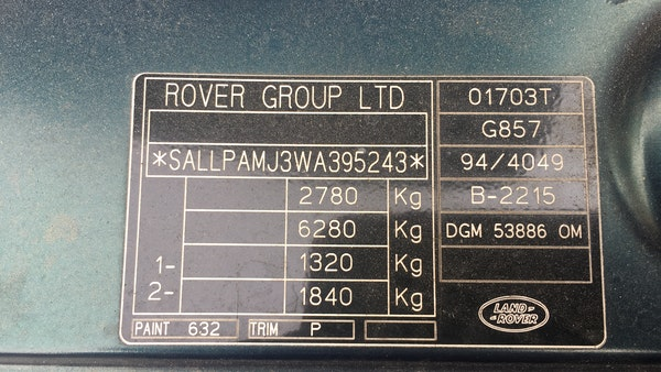 1998 Range Rover P38 For Sale (picture 50 of 97)
