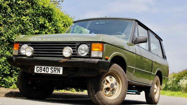 RESERVE LOWERED - 1989 Range Rover Turbo D For Sale (picture 10 of 113)