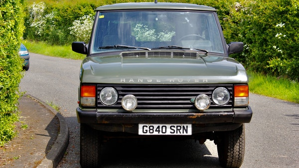 RESERVE LOWERED - 1989 Range Rover Turbo D For Sale (picture 12 of 113)