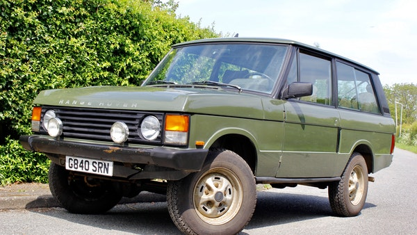 RESERVE LOWERED - 1989 Range Rover Turbo D For Sale (picture 11 of 113)