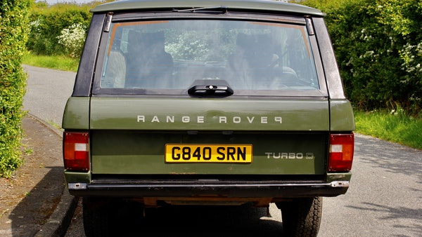 RESERVE LOWERED - 1989 Range Rover Turbo D For Sale (picture 17 of 113)