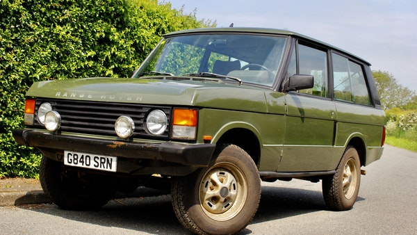 RESERVE LOWERED - 1989 Range Rover Turbo D For Sale (picture 9 of 113)