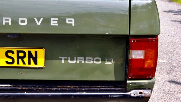RESERVE LOWERED - 1989 Range Rover Turbo D For Sale (picture 68 of 113)