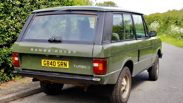 RESERVE LOWERED - 1989 Range Rover Turbo D For Sale (picture 16 of 113)