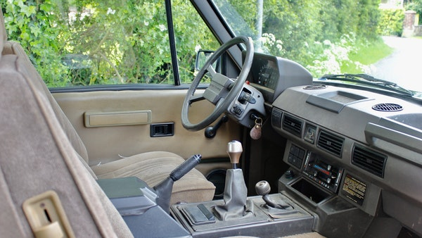 RESERVE LOWERED - 1989 Range Rover Turbo D For Sale (picture 32 of 113)