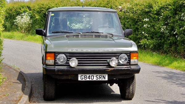 RESERVE LOWERED - 1989 Range Rover Turbo D For Sale (picture 13 of 113)