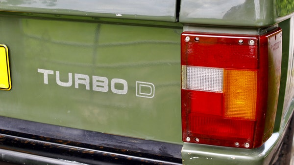 RESERVE LOWERED - 1989 Range Rover Turbo D For Sale (picture 48 of 113)