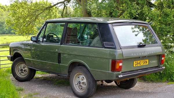 RESERVE LOWERED - 1989 Range Rover Turbo D For Sale (picture 18 of 113)