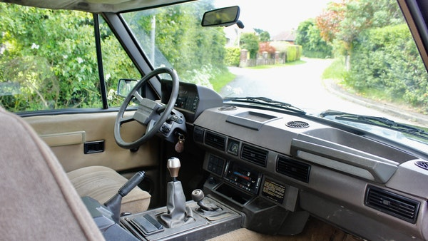 RESERVE LOWERED - 1989 Range Rover Turbo D For Sale (picture 35 of 113)