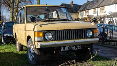 1973 Range Rover 2 Door Suffix B