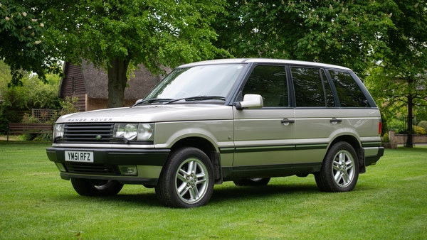 2001 Range Rover Vogue For Sale (picture 1 of 77)