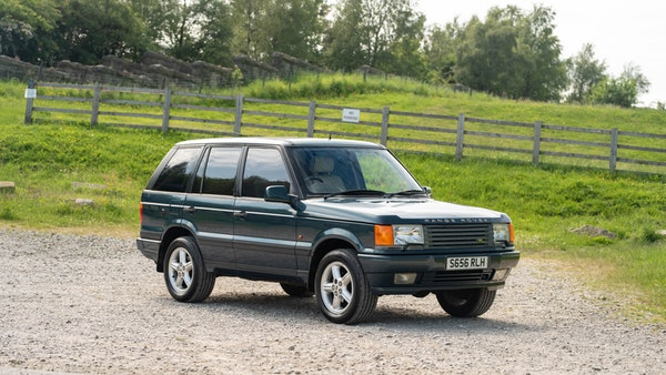 1998 Range Rover P38 50th Anniversary 'Vogue 50' Limited Edition For Sale (picture 6 of 82)