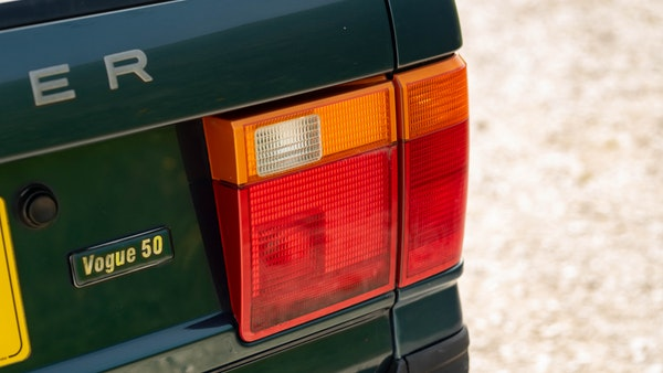 1998 Range Rover P38 50th Anniversary 'Vogue 50' Limited Edition For Sale (picture 76 of 82)