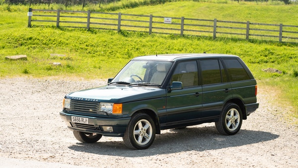 1998 Range Rover P38 50th Anniversary 'Vogue 50' Limited Edition For Sale (picture 8 of 82)