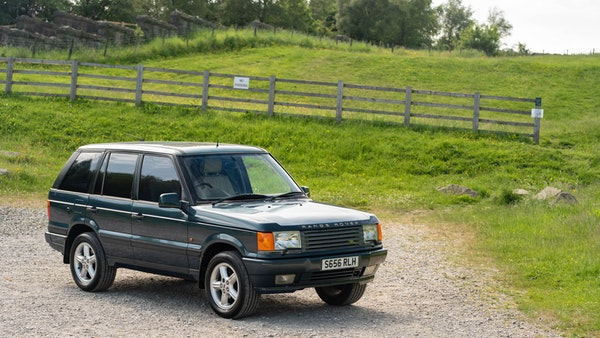 1998 Range Rover P38 50th Anniversary 'Vogue 50' Limited Edition For Sale (picture 1 of 82)