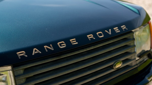 1998 Range Rover P38 50th Anniversary 'Vogue 50' Limited Edition For Sale (picture 49 of 82)