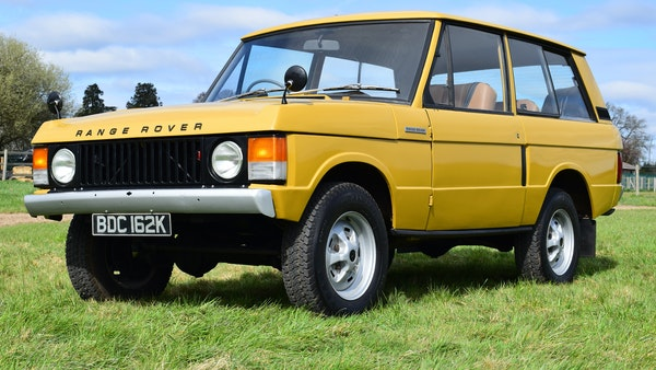 1971 Range Rover Suffix A For Sale (picture 4 of 110)