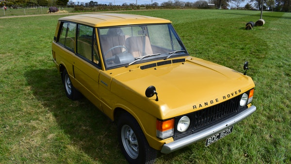 1971 Range Rover Suffix A For Sale (picture 14 of 110)