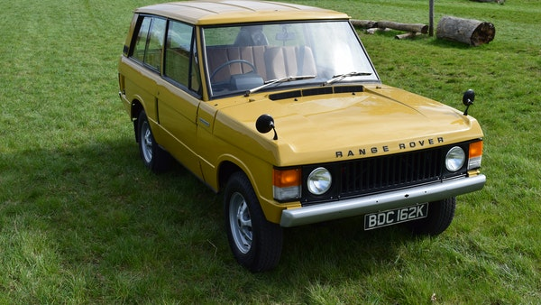 1971 Range Rover Suffix A For Sale (picture 12 of 110)