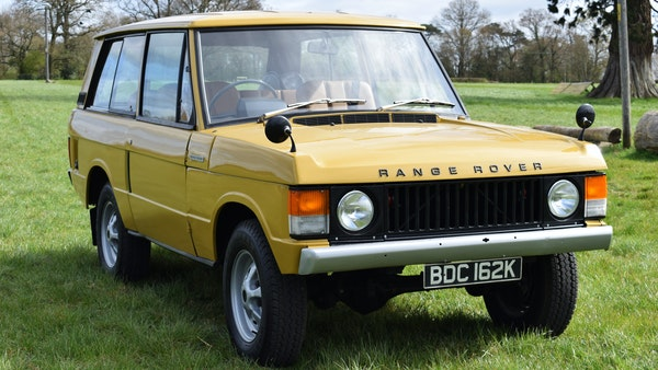 1971 Range Rover Suffix A For Sale (picture 5 of 110)