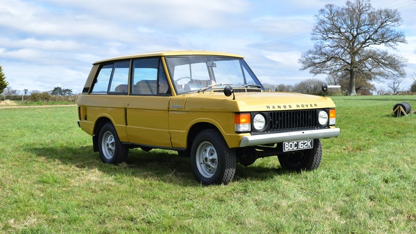 1971 Range Rover Suffix A For Sale (picture 8 of 110)