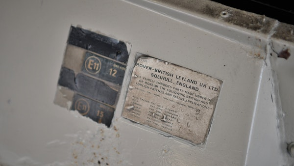 1972 Range Rover Suffix A (LHD) For Sale (picture 72 of 172)
