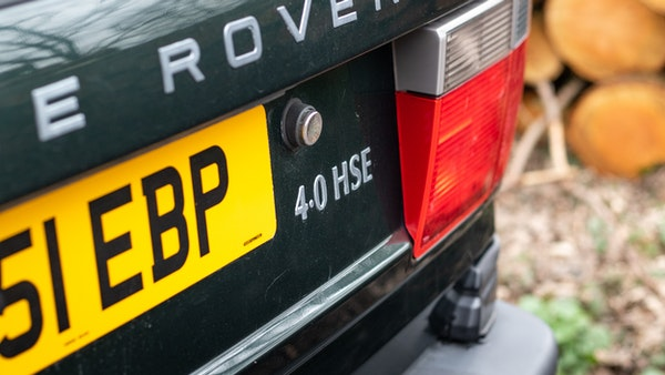 NO RESERVE! - 2001 P38 RANGE ROVER For Sale (picture 99 of 200)