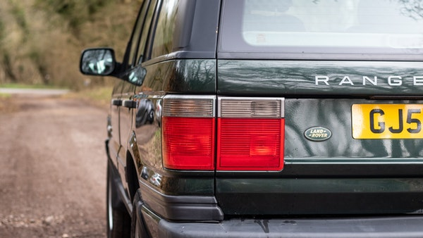NO RESERVE! - 2001 P38 RANGE ROVER For Sale (picture 109 of 200)