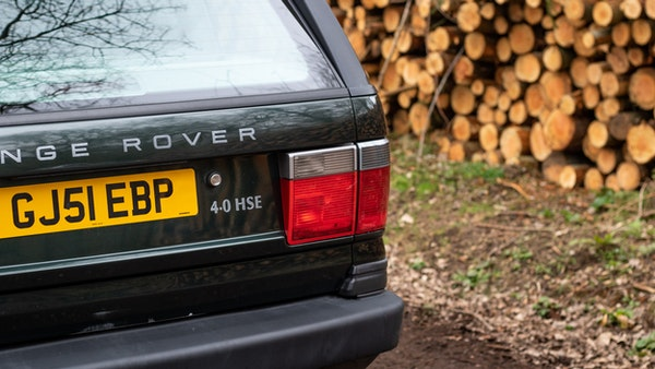 NO RESERVE! - 2001 P38 RANGE ROVER For Sale (picture 140 of 200)