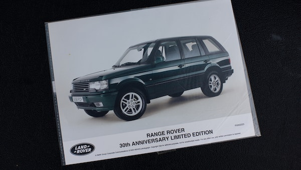 2001 Range Rover P38 30th Anniversary Edition For Sale (picture 107 of 124)
