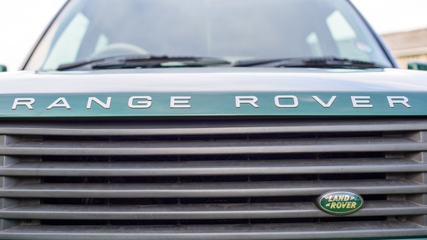 2001 Range Rover P38 30th Anniversary Edition For Sale (picture 80 of 124)