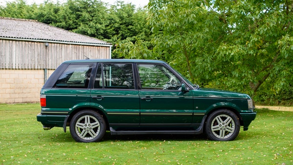 2001 Range Rover P38 30th Anniversary Edition For Sale (picture 5 of 124)