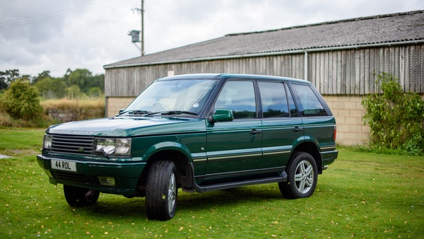 2001 Range Rover P38 30th Anniversary Edition For Sale (picture 24 of 124)