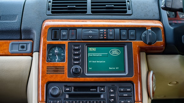 2001 Range Rover P38 30th Anniversary Edition For Sale (picture 46 of 124)