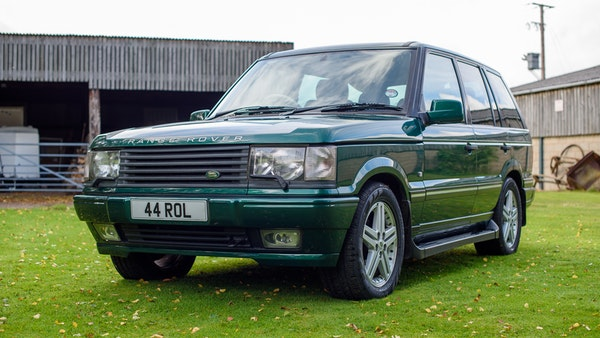 2001 Range Rover P38 30th Anniversary Edition For Sale (picture 8 of 124)